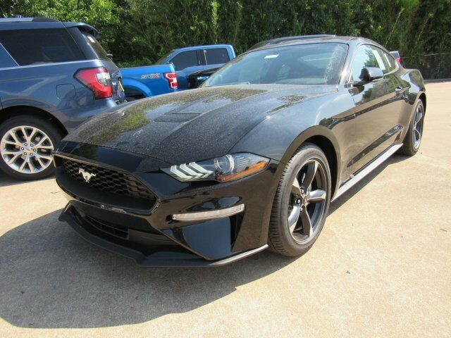 2019 Ford Mustang EcoBoost 2800 Miles Shadow Black 2dr Car Intercooled Turbo Pre