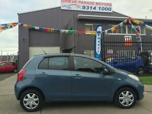 2007 Toyota Yaris NCP90R YR Blue 4 Speed Automatic Hatchback Brooklyn Brimbank Area Preview