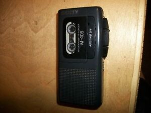 SONY - Microcassette Tape Recorder Model # M-405 ( Japan )