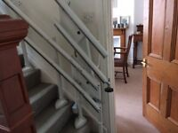 For sale: Handicare 2000 hinge top of the range curved stairlift in excellent condition