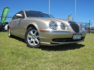 2003 Jaguar S-Type X2O2 Champagne Automatic Sedan Wangara Wanneroo Area Preview