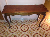 #1 Antique Hall Table