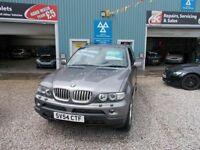 BMW X5 3.0 D SPORT 5d AUTO 215 BHP turbo diesel automatic (grey) 2004