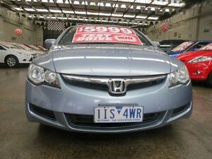 2007 Honda Civic MY07 VTi 5 Speed Manual Sedan Mordialloc Kingston Area Preview