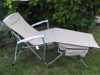 Colman Quickfold Camping Lounger