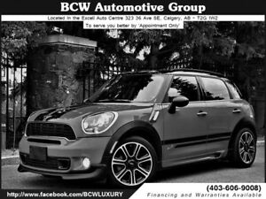 2014 MINI Cooper Countryman S JCW Package Must See $23,995.00