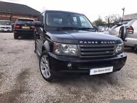 2007 Land Rover Range Rover Sport 2.7 TD V6 SE 5dr FSH+HEATED LEATHER SEATS