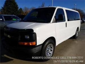 2014 Chevrolet Express Passenger AWD 8 PERSON SEATING