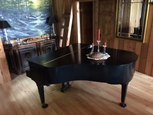 Baby Grand Piano With A History!!!