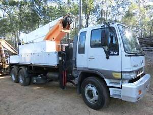 Rural Tree trimming - elevated work truck for hire Gatton Lockyer Valley Preview