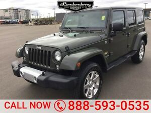 2015 Jeep Wrangler Unlimited 4WD SAHARA UNLIMITED Accident Free,