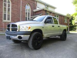 2008 DODGE RAM 1500 LIFTED + BIG TIRES + CUSTOM EXHAUST ! $8,999