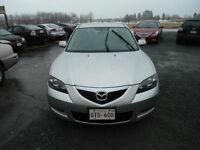 2008 Mazda Mazda3 Black cloth Sedan