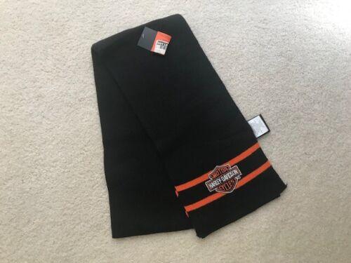 Harley Davidson Embroidered Scarf - Brand New