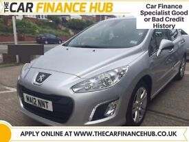BAD CREDIT, NEED A CAR ?....PAY AS YOU GO FINANCE....PEUGEOT 308 HDI.....representative APR 14.5%