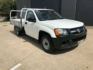 2008 Holden Colorado RC DX Cab Chassis Single Cab 2dr Man 5sp 1468kg 2.4i White Manual Cab Chassis