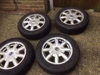 Mini One Set Of Alloy Wheels £150 ONO