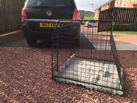 Dog Cage for car Barjo made to measure to fit Vauxhall Zafira