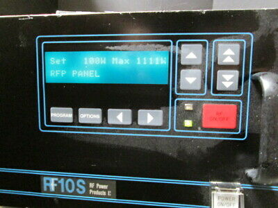 Rf Generator 1000w 13mhz Tested Rf10s Plasma Etching Source Programmable