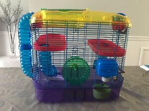 Critter Trail 2-Level Hamster cage