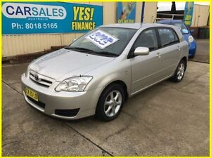 2006 Toyota Corolla ZZE122R 5Y Ascent Silver 4 Speed Automatic Hatchback Kogarah Rockdale Area Preview