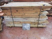 RAISED FLOWER BEDS 9x2 timber 5x4 timber