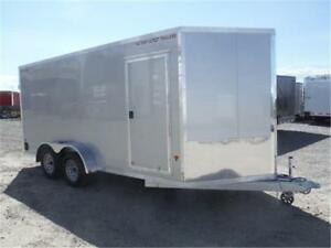 7 X 16 ENCLOSED ALL-ALUMINUM **OUT THE DOOR PRICES, EVERYDAY**
