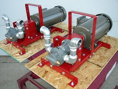 New 110220v Class 1 Explosion Proof Gear Pump34 Hptransformerbulkwaste Oil
