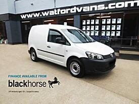 2013 Volkswagen Caddy 1.6TDi 102ps E/Windows ABS Brakes Diesel white Manual
