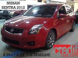 2012 Nissan Sentra SE-R, À PARTIR DE 51$/sem. 100% approuvé!