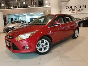 2012 Ford Focus SEL-SUNROOF-CAMERA-ONLY 46KM