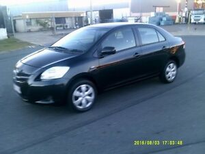 2008 Toyota Yaris Black 5 Speed Manual Sedan Woodridge Logan Area Preview