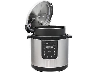 Elite  EPC-1013  10 Quart Electric Pressure Cooker Stainless Steel