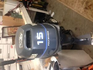 Lund 14 ft river boat / 15 hp 4 stroke Yamaha