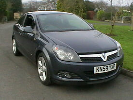59 REG VAUXHALL ASTRA 1.6T 16v SRI TURBO SPORTS HATCHBACK SAT NAV & BLUETOOTH