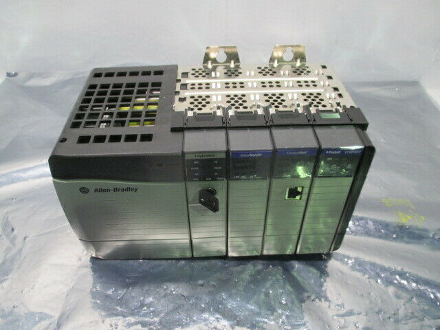 Allen Bradley 1Type 1756 ControlLogix 4 Slot PLC Controller Rack, 100496