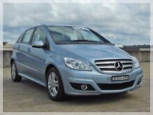 2008 Mercedes-Benz B180 CDI W245 Blue Constant Variable Hatchback North Curl Curl Manly Area Preview