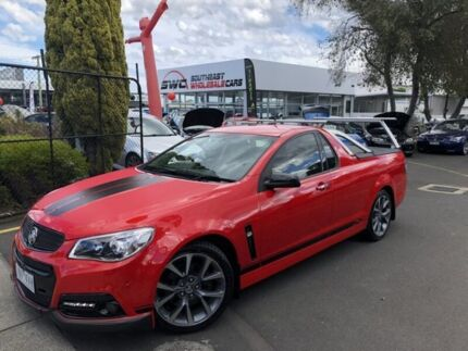2013 Holden Ute VF MY14 SS V Ute Red 6 Speed Sports Automatic Utility Seaford Frankston Area Preview