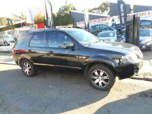 2008 Ford Territory SY SR AWD Black Automatic Wagon Croydon Burwood Area Preview
