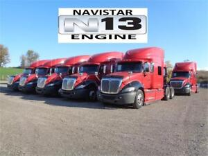 2014 INTERNATIONAL PROSTAR, JUST OFF LEASE !!!  (5 IN STOCK)