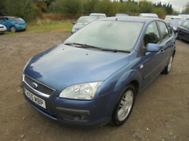 Ford Focus 1.6 TI-VCT GHIA (blue) 2005