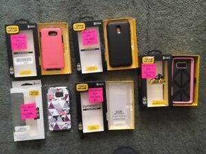 Several Otterbox Samsung Cell Phone Cases