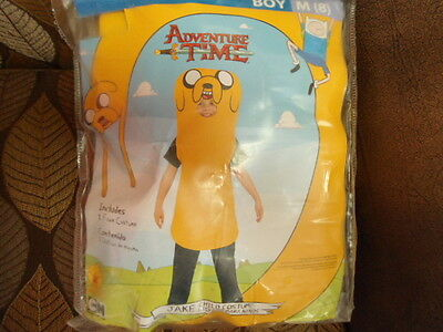Adventure Time Jake Kids Costume Boys Medium 8 ~ Halloween ~ NEW