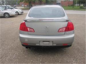 2004 Infiniti G35 Sedan Luxury|MUST SEE|X-DRIVE|AWD|NAVIGATION Kitchener / Waterloo Kitchener Area image 5