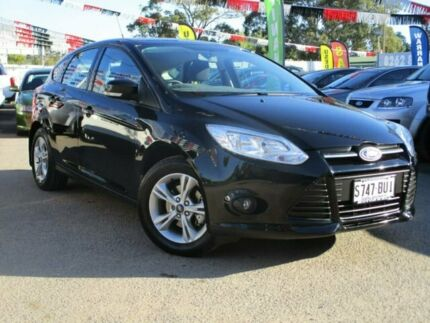 2013 Ford Focus LW MkII Trend PwrShift Black 6 Speed Sports Automatic Dual Clutch Hatchback Gepps Cross Port Adelaide Area Preview