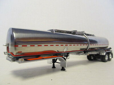 DCP 1/64 SCALE BRENNER CHEMICAL TANKER  POLISHED TANK WITH SILVER SUSPENSION