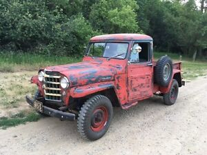 wanted information on this willys pickup