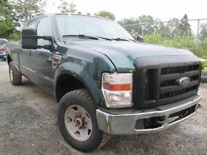 2010 Ford SD F-250 XL-4X4 CREW CAB LONG BOX 6.4L- DIESEL