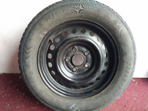 Winter tires 195/65/r15 with honda factory rims  -- Honda civic