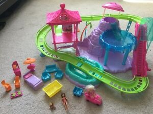 POLLY POCKET ROLLER COASTER WATER PARK
